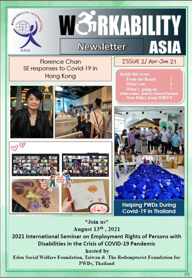 Newsletter Issue 2 | Apr-Jun 2021